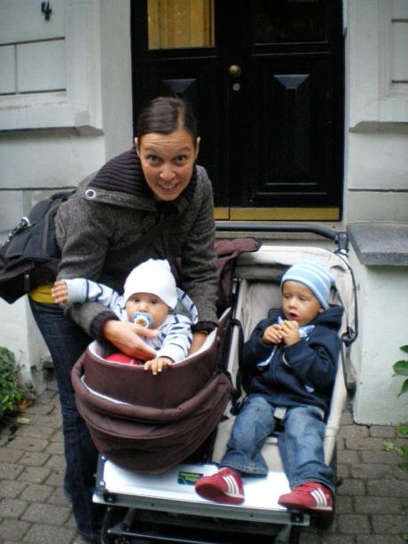Ilaria, Alessandro (Dadi) e Luca
